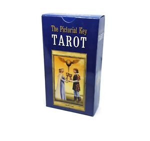 The-Pictorial-Key-Tarot-English-and-Russian-Instruction-78-Cards-Xmas-GIFT