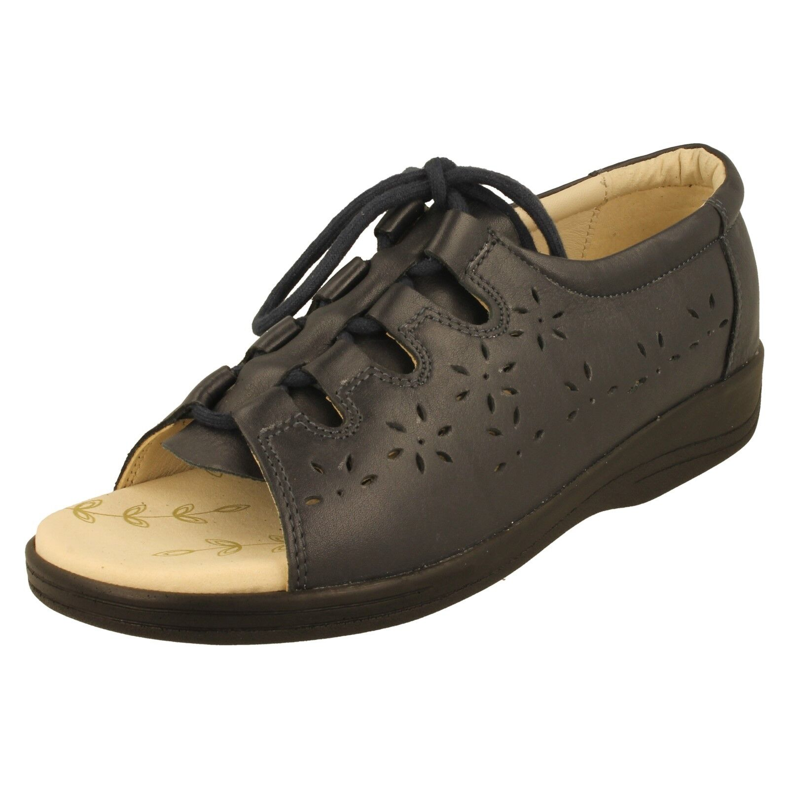 Padders Women Leather Very Comfortable (2e) Casual Summer Sandals-Costa