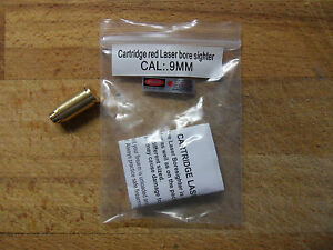 CARTUCCIA-LASER-COLLIMATORE-CAL-9mm-Laser-Bore-Sight-BoreSighter-VIDEO-DEMO