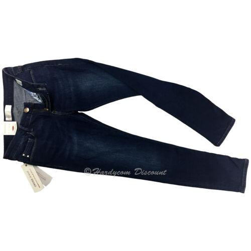 CROSS® Adriana Super Skinny Damen Jeans P 461-180 High Waist  blau