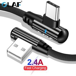90Degree-Right-Angle-Micro-USB-LED-Fast-Charging-Cable-For-Android-iPhone-Type-C