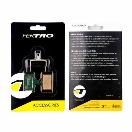 Tektro E10.11 Ceramic Compound w// Return Spring Metal Bicycle Bike Brake Pads