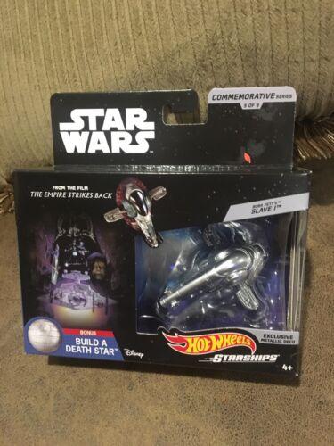 Boba Fett/'s SLAVE 1 Star Wars Hot Wheels Starships Commemorative Series 5 of 9