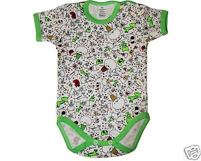 NEW Baby Clothes Bodysuit Onsie Romper Size 000 00 0 1 2 Quality Cotton  EU Made