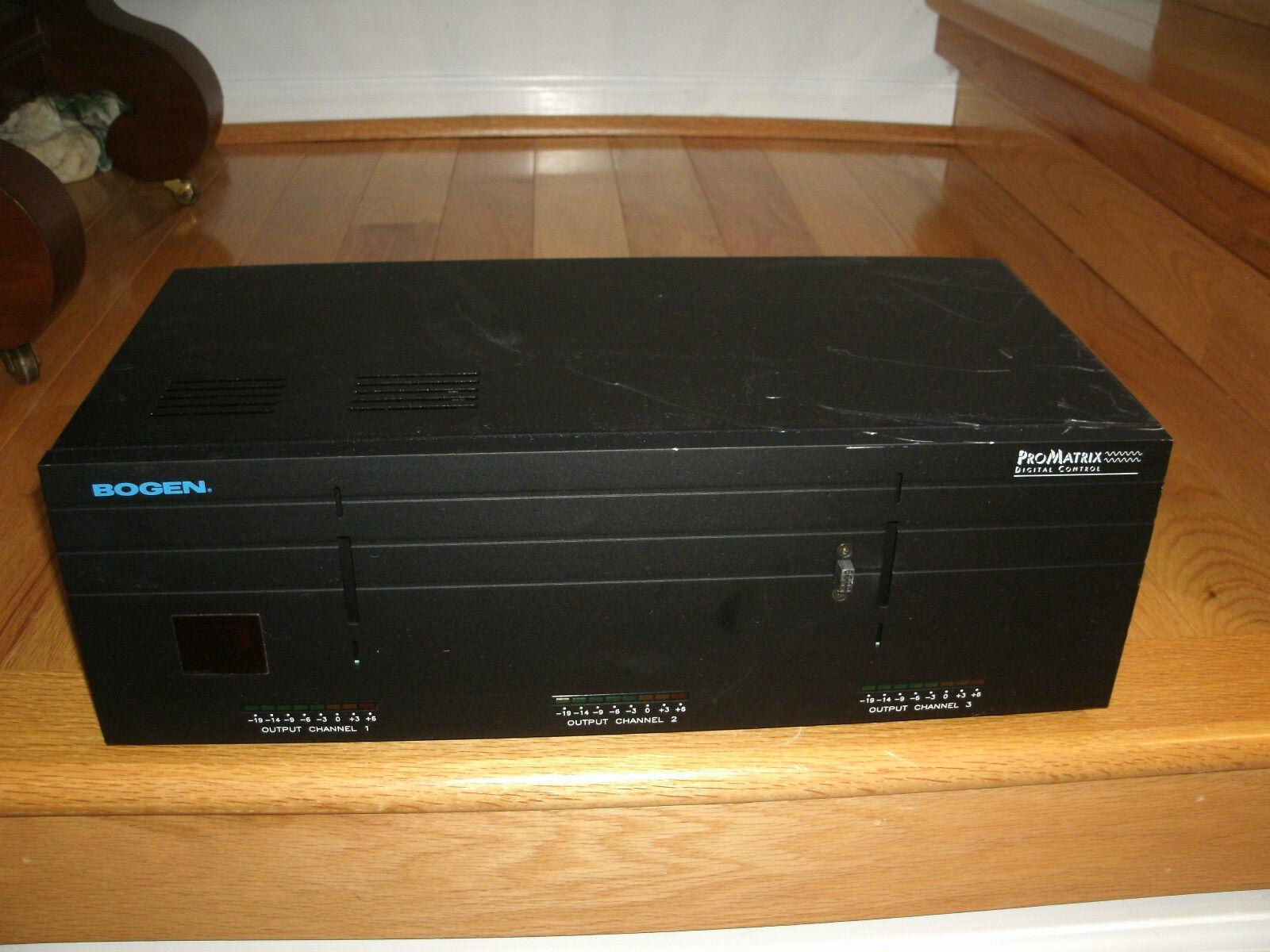 Bogen PM 3000 (3) Channel Amplifier -