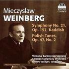 Weinberg: Symphony No. 21; Polish Tunes (CD, Jun-2014, Toccata Classics)