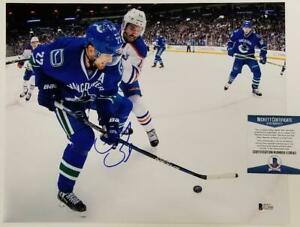 247ee302bb1 Image is loading DANIEL-SEDIN-Signed-11x14-Photo-Vancouver-Canucks-Auto-