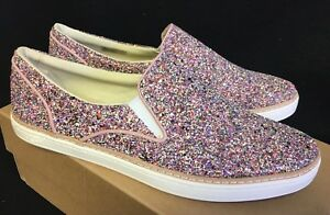 e561ec5f81d Details about Ugg Australia Adley Chunky Glitter Confetti Pink Slip On  Shoes 1091489 Sneakers