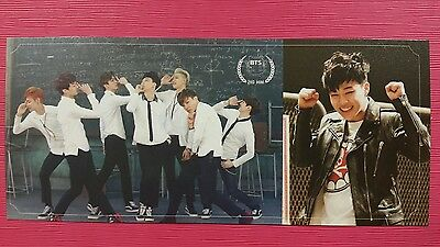 BTS JIMIN #1 Official Photo Card 2nd Mini Album Skool Luv Affair Photocard