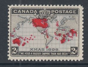 Canada-Sc-85-MNH-1898-2c-Imperial-Penny-Postage-lavender-oceans-F-VF