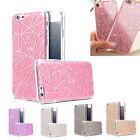 Diamand Strass Housse Etui Coque iPhone 5 SE 6 7 Plus Paillettes géométrique