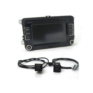 Details about Car Radio RCD510 Rear View Image+ USB AUX Switch Cable Set  Code For VW