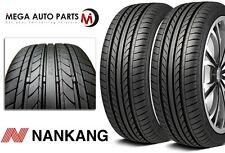 "2 X New Nankang NS-20 ""Noble Sport"" 245/45R18 100H XL AS High Performance Tires"