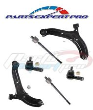 2000-2005 ACCENT CONTROL ARM SET TIE ROD END INNER & OUTER SET BRIO