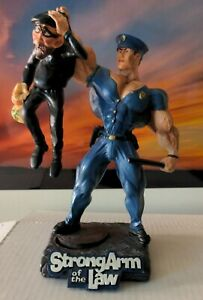 Xtreme Figurine Strong Arm of the Law Bodybuilding statue 1999 Creation Station