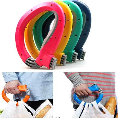 Hot Plastic Bucket Bag Food Vegetable Soft-Grip Handle Lifter Holder Hanger New