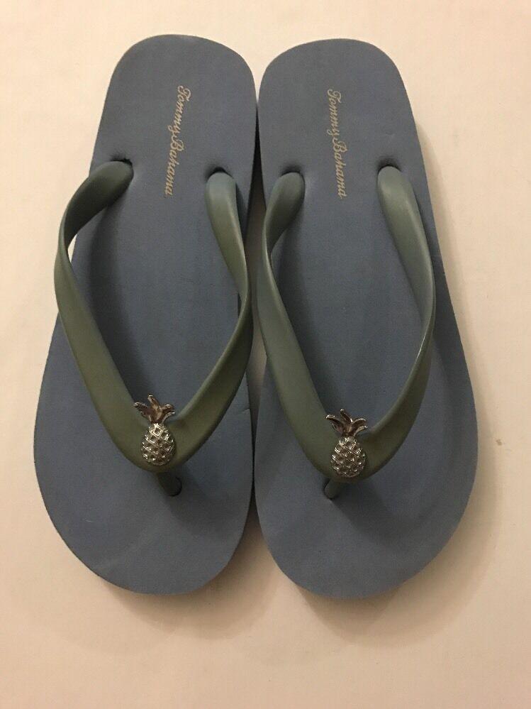 Tommy Bahama size Women's Blue Thong Sandals size Bahama 5 6 619517