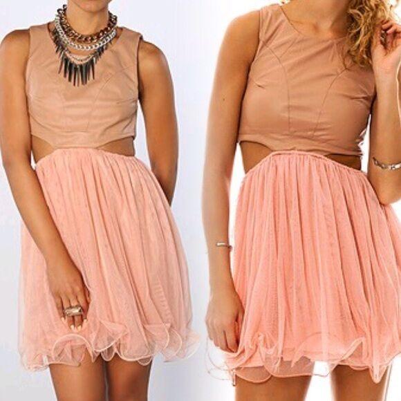 UNIF bluesh Prima dress size S NWT