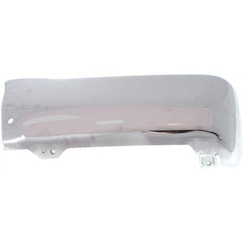 Steel For 4Runner 96-02 Chrome Driver Side Bumper End Rear