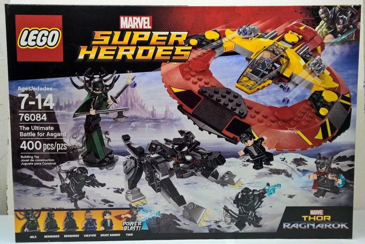 Lego 76084 The Ulitmate Battle for Asgard Thor Ragnarok Marvel New Sealed Box