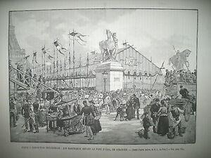 EXPOSITION-UNIVERSELLE-DANSE-CANAQUE-MARCHANDS-LES-PHARES-DU-JAPON-GRAVURES-1889