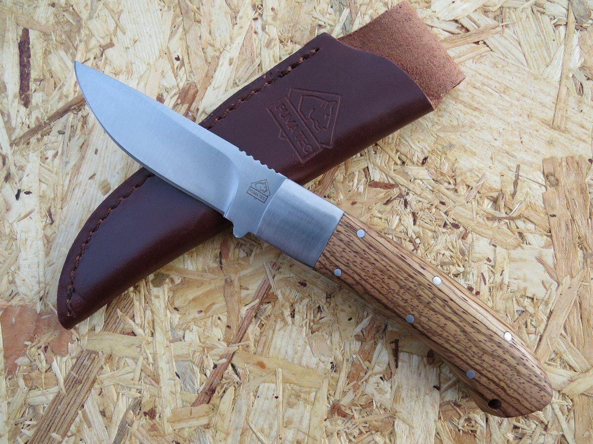 Puma TEC Jagdmesser Gürtelmesser Fahrtenmesser Jagd Messer Zebrawood 312609  | Zuverlässiger Ruf