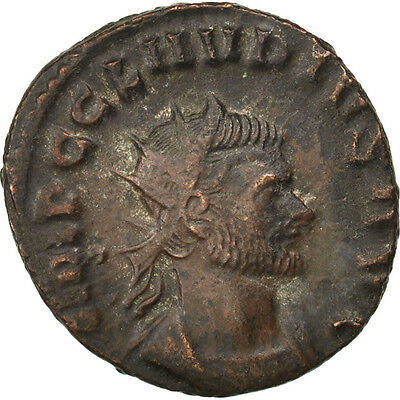 2.70 Durable Modeling Antoninianus Au #65708 Billon Claudius Cohen #313 Obliging 50-53
