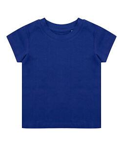 Larkwood Baby Toddler Boys Girls Long Sleeved Crew Neck Cotton T-Shirt Tee Top