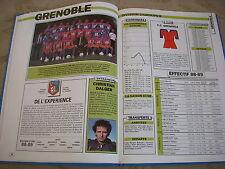 FOOTBALL COUPURE LIVRE PHOTO MRBT17 20x10 D2 GrB FC GRENOBLE 1988/1989