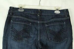 Mossimo-Women-039-s-Jeans-Boot-Cut-Stretch-Denim-Medium-Wash-Size-10