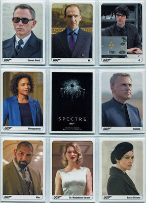 James Bond Archives 2017 Spectre Skyfall Expansion Card F86