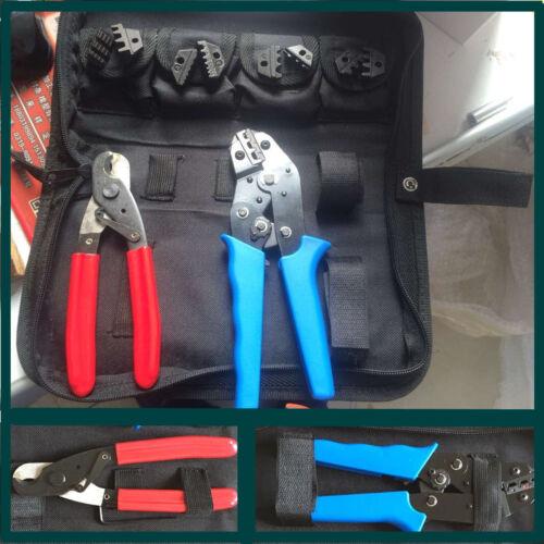 Mano crimpadoras & Strippers SN-02C crimping Plier & reemplazable crimping Die conjuntos/mandíbula