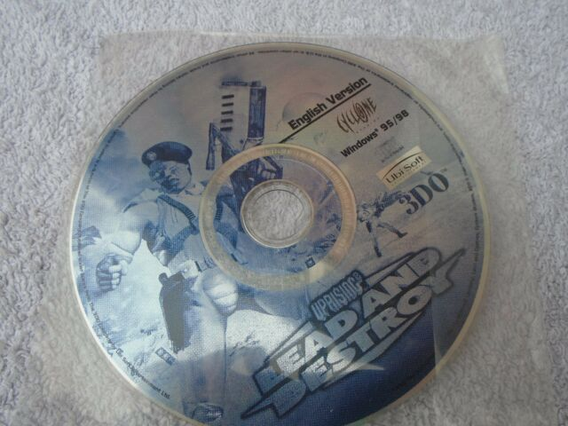 Aufstand 2: Lead and Destroy-PC CDROM-Disc Only.