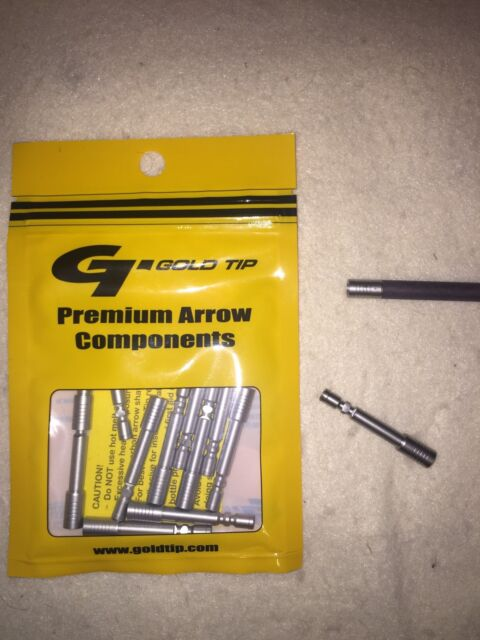 Gold Tip Stainless Steel Inserts For the New Traditional Classic 600 Shafts