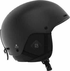 Details zu Salomon Brigade+ 2019 Ski & Snowboard Helmet All Black