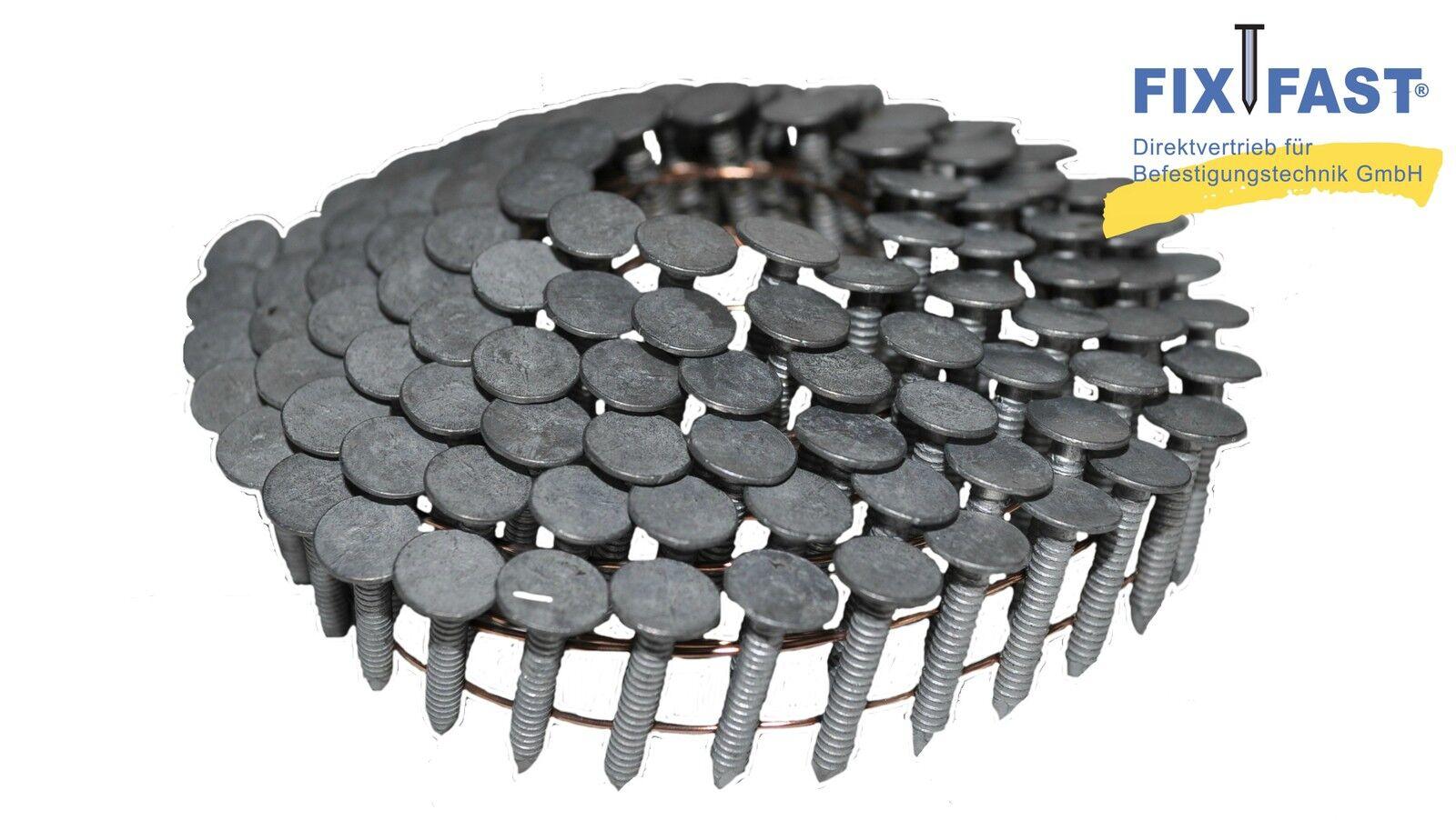 Dachpappnägel | Pappstifte, verzinkt, Rille 19 - 45 mm