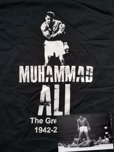 Boxing Legend The Greatest Sonny liston Muhammad Ali Cassius Clay T-Shirt R.I.P