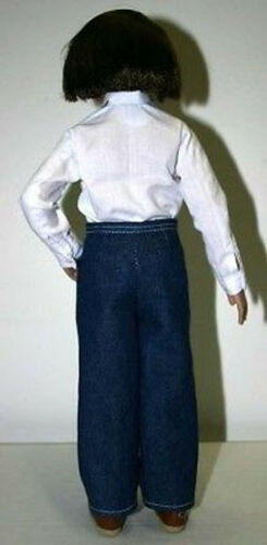Shirt /& Top Doll Clothes Sewing Pattern  Lucy Pevensie Narnia Tonner Pants