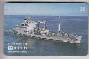 ARMEE ARMY TELECARTE - PHONECARD .. BRESIL 20R MARINE BATEAU BOAT MAGNETIQUE q4fatvkJ-09164507-798064199