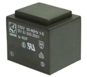 9 V 334 ma 230 V Print Transformateur-Hahn-BV œuf 305 2051-3 A