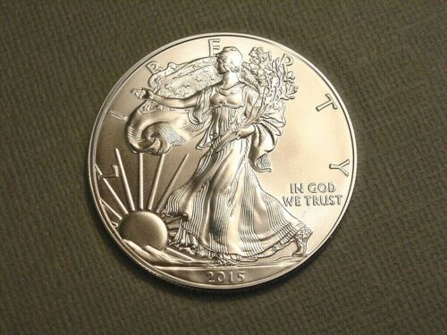 2015 American Eagle 1 Ounce .999 Silver One Dollar~US Mint Coin~Ungraded Bullion