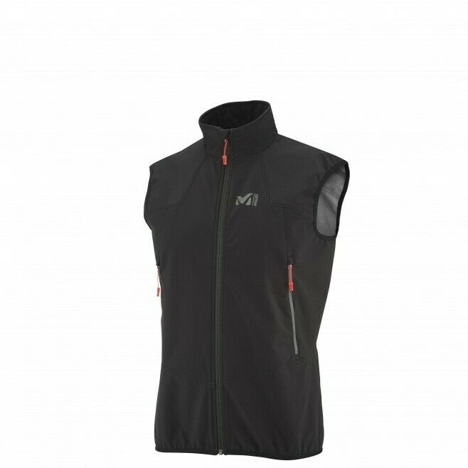 Millet k shield vest orion bluee,  waistcoat sleeveless softshell man.  your satisfaction is our target