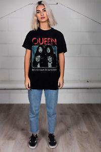 Official-Regina-Bohemian-Rhapsody-T-Shirt-Unisex-Classici-Trasparenti-Cuore