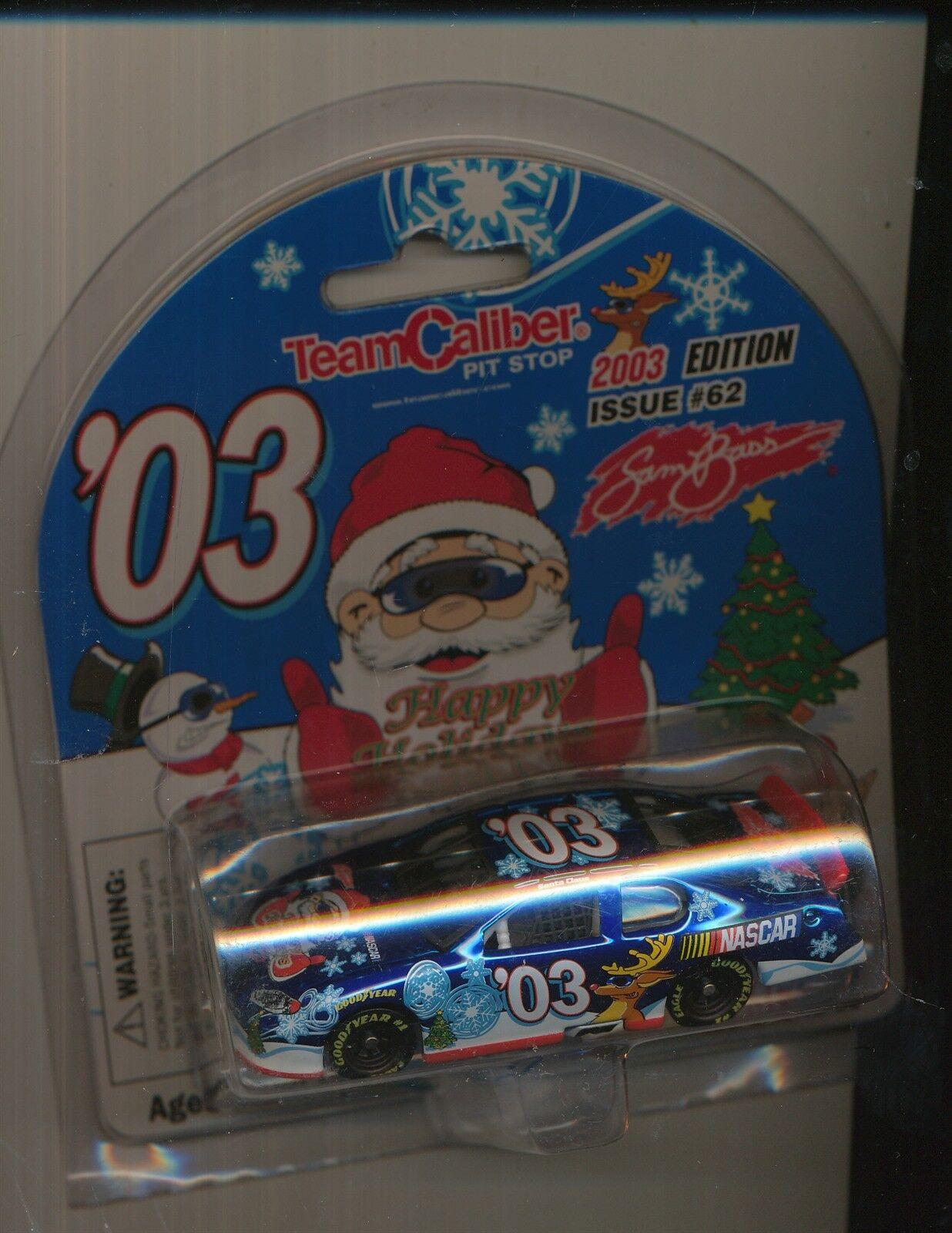 TEAM CALIBER PIT STOP NASCAR 2003 EDITIION ISSUE SAM BASS 1 64 DIE CAST CAR