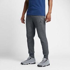 92601dcfe860 Men s Jordan Icon Fleece Cuffed Sweatpants XXL Dark Gray   Black ...
