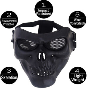 Cool-craneo-mascara-facial-Multi-intball-CS-Esqui-Bicicleta-Moto-Sports-Wear-Halloween