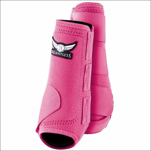 CACTUS ROPES RELENTLESS FRONT ALL AROUND EQUINE HORSE LEG SPORT BOOT PINK
