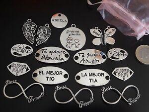 Viel Rosa 15 Teile Zamak Familie Freundschaft Hochleistungsgerät + Geschenk Einen Einzigartigen Nationalen Stil Haben