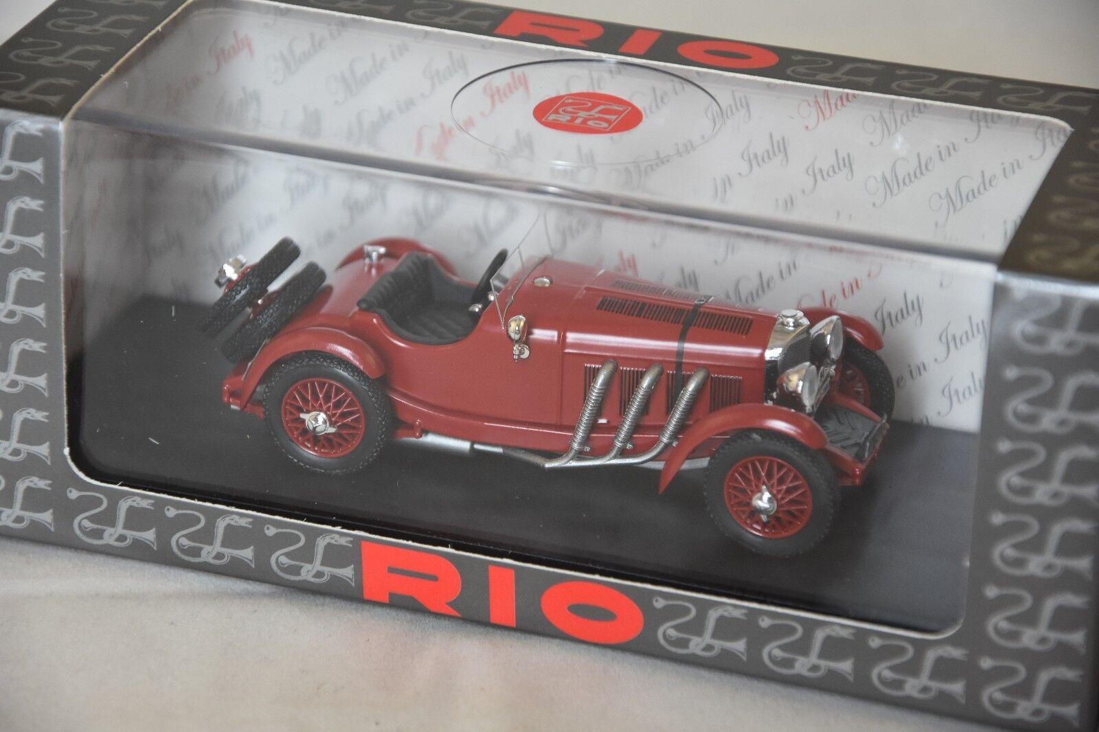 RIO 4538 Mercedes Benz Benz Benz SSK  rallye Monte Carlo 1930  Howey  1/43 | Vendre Prix  5aae72