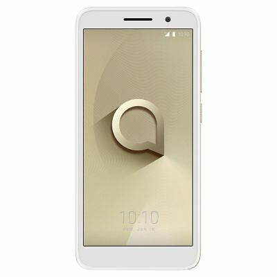 "Alcatel 1 5"" Smartphone 8GB 1GB 8MP Android Gold Unlocked Sim Free Grade C"